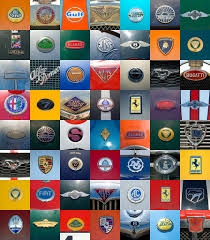 sports car logos 56 sports cars number 11 in the series of badge mosaics c u2026 flickr