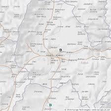 kabul map map of kabol kabul afghanistan global 1000 atlas