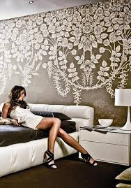 Flower Decoration For Bedroom 25 Ideas For Spring Decorating With Flowers On Walls