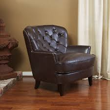 Accent Chair With Brown Leather Sofa Amazon Com Alfred Royal Vintage Design Upholstered Arm Chair