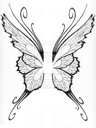 tribal wing tattoos with letters wing lovely design ideas