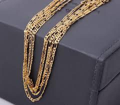 gold necklace wholesale images Online cheap wholesale wholesale 18k gold chain 18kgf figaro chain jpg