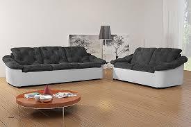 canapé fixe 2 places tissu 2 canapes dans un salon best of canapé fixe 3 2 places design en pu