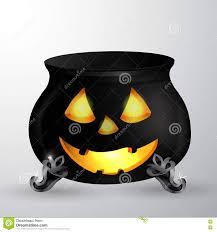 cartoon halloween witches cauldron stock illustration image