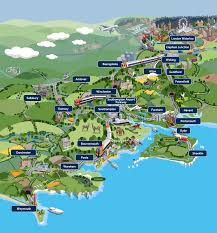 England Train Map by Whimsical Map Of Things To See And Do In Southwest England By
