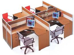 home office office cubicle with barn screen door for privacy