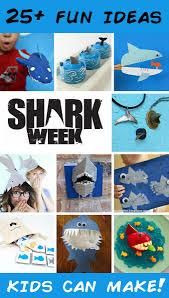 25 shark crafts u0026 recipes fun family crafts