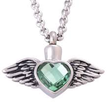 ash urns cremation urn necklace green promotion shop for promotional