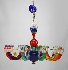 colored glass pendant lights chandelier astonishing colored glass chandelier marvelous