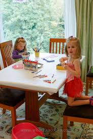 Stay Put Table Covers Kid Created Table Cover U2014 What Lisa Cooks