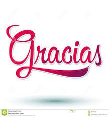 spanish thanksgiving words gracias thank you spanish royalty free stock photos image