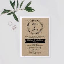 barn wedding invitations kraft wedding invite suite wedding invitation rustic set rustic