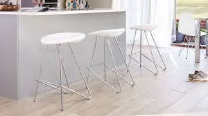 White Leather Bar Stool White Leather Bar Stools Contemporary Fixed Height White Leather