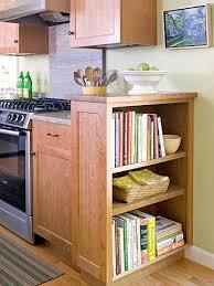 diy kitchen cabinets book custom touches for small kitchens kitchen bookshelf