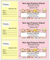 25 unique custom raffle tickets ideas on pinterest printable