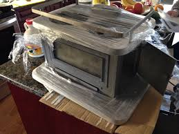 the wood stove u2013 little cod u2013 airstream trailer complete renovation
