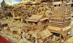 wood carving as ancient tradition veri