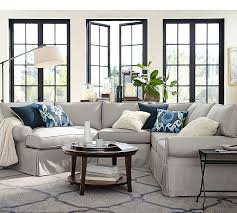 Pottery Barn Living Room Metropolitan Round Coffee Table Pottery Barn