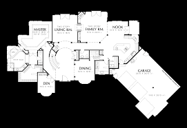 mascord house plan the holloway home design curved staircase plans