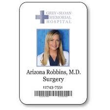 Anatomy Halloween Costumes Arizona Robbins Badge Halloween Costume Greys Anatomy Tv
