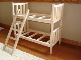 How To Make Wooden Doll Bunk Beds by Handmade Barbie Furniture Handmade Bunk Beds Barbie Ideas