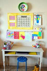 kids homework station art and homework station