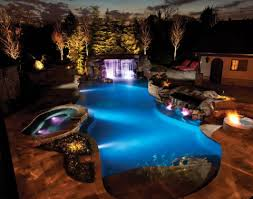 outdoor pool deck lighting pool and landscape lighting luxury pools