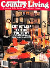 buy country living magazine december 1996 christmas in the