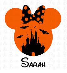 disney halloween minnie mouse iron on transfer for t shirts