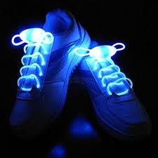 led shoelaces blue led shoe laces glow in the neon shoe laces co