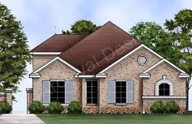 Front View House Plans Strawberry Fields Narrow Floor Plan Ranch House Plan