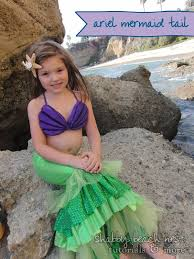 Halloween Princess Costumes Toddlers 25 Mermaid Costume Kids Ideas Girls Mermaid