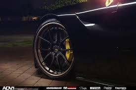 Ferrari F12 Front - stunning black ferrari f12 berlinetta on adv 1 wheels front side
