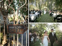 outside weddings colorfully gorgeous california wedding every last detail