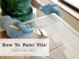 Paint Kitchen Tiles Backsplash How To Paint A Kitchen How To Paint A Kitchen Island Part 1