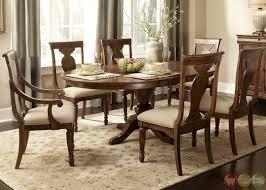 unique design formal dining table set rustic cherry rectangular