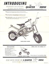 vintage mini bike magazine ads and brochures page 2