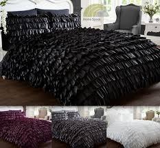 flamenco quilt duvet cover u0026 p case bedding bed sets purple black