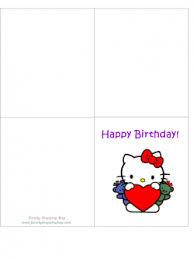 hello kitty birthday card hello kitty invitations free