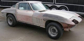 1965 corvettes for sale for sale 1965 corvette coupe project car with air conditioning