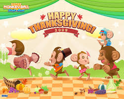 monkey says happy thanksgiving kotaku australia