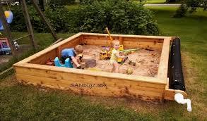 Backyard Sandbox Ideas Well Suited Design Backyard Sandbox For Carlislerccar Club