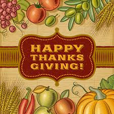 vintage happy thanksgiving card by iatsun graphicriver