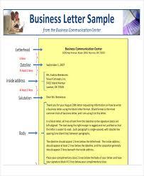 44 business letter format free u0026 premium templates