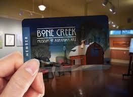bone creek membership card arrived cameron