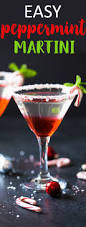 candy cane martini recipe easy peppermint martini the blond cook