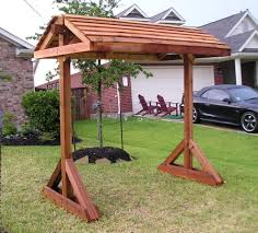 pergola swing plans free standing swing on a frame google search backyard