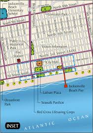 Florida Map Of Beaches by Maps City Of Jacksonville Beach
