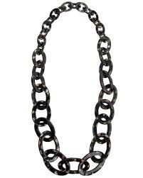 black link necklace images Nest jewelry spotted horn graduated link necklace jewelry shak jpg