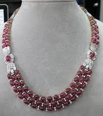 ruby diamonds necklace images Cartier paris burma ruby diamond necklace circa 90 39 s yelp ruby jpg